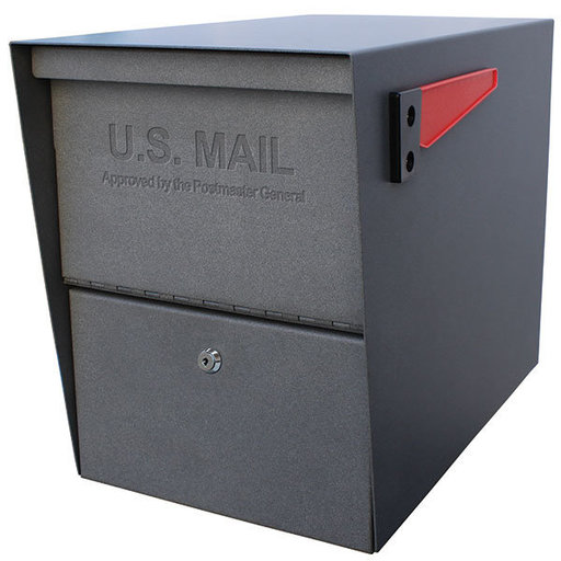 View a Larger Image of Package Master Locking Security Mailbox, Granite