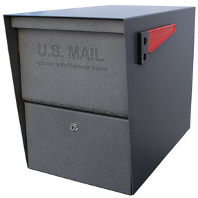 Package Master Locking Security Mailbox, Granite