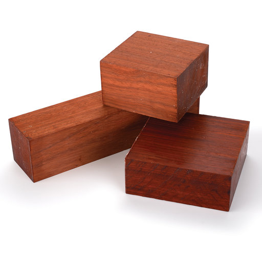 View a Larger Image of Padauk Turning Pack 3-piece