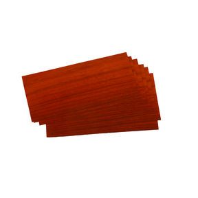 Padauk Veneer 3 sq ft pack