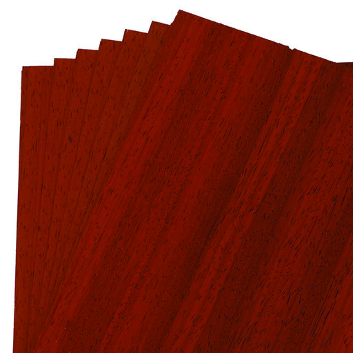 "View a Larger Image of Padauk Veneer 8"" x 8"" 7-piece"