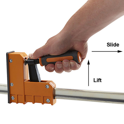 """View a Larger Image of Parallel Clamp 50"""" Two Pack"""