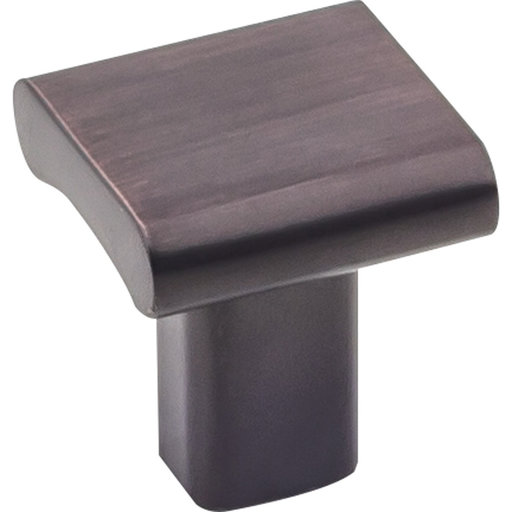"View a Larger Image of  Park Knob 1"" O.L., Brushed Oil Rubbed Bronze"