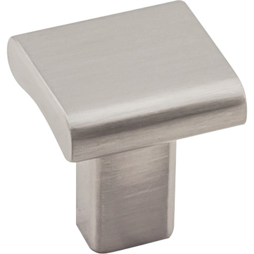 "View a Larger Image of  Park Knob 1"" O.L., Satin Nickel"