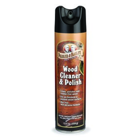 Wood Cleaner & Polish, 12.5 oz Aerosol
