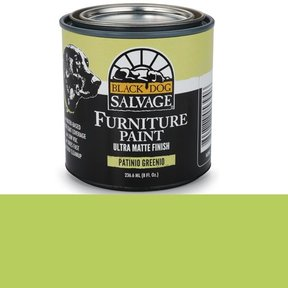 Patinio Greenio' - Green Furniture Paint, 1/2 Pint 236.6ml (8 fl. Oz.)