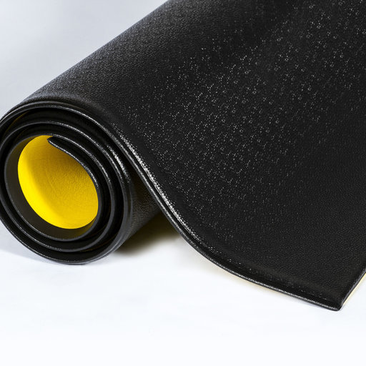 "View a Larger Image of Pebble Wear-Bonded Tuff-Spun 9/16"" 2'x60' - Black"