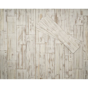 Peel & Press Real Wood Wall Paneling, Brushed Coral