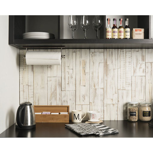 View a Larger Image of Peel & Press Real Wood Wall Paneling, Brushed Coral