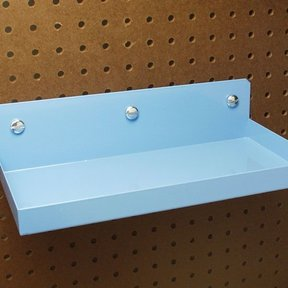 "Pegboard Shelf 12""x6-1/2"""