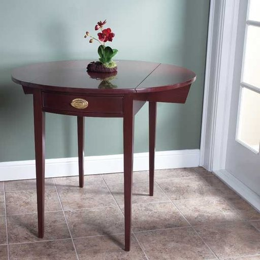 View a Larger Image of Pembroke Drop-Leaf Table - Downloadable Plan