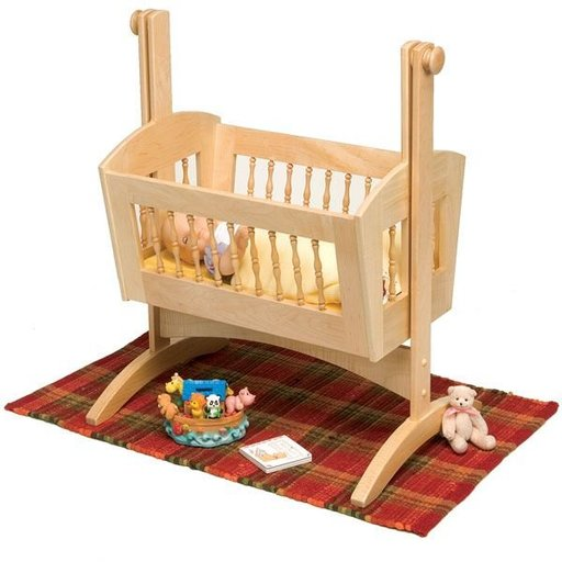 View a Larger Image of Pendulum Doll Cradle - Downloadable Plan