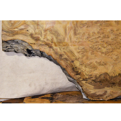 "View a Larger Image of Pequia (Caryocar Villosum) Slab 100"" x 27"" x 2"""