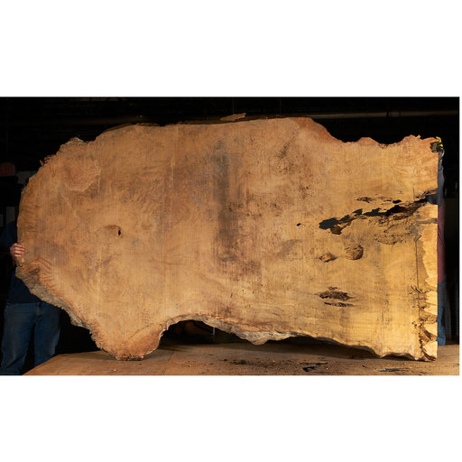 "View a Larger Image of Pequia (Caryocar Villosum) Slab 105"" x 57"" x 2"""