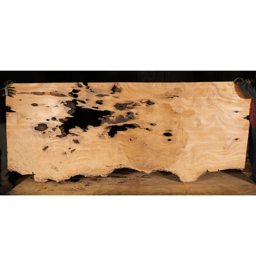 "View a Larger Image of Pequia (Caryocar Villosum) Slab 115"" x 44-1/2"" x 2"""