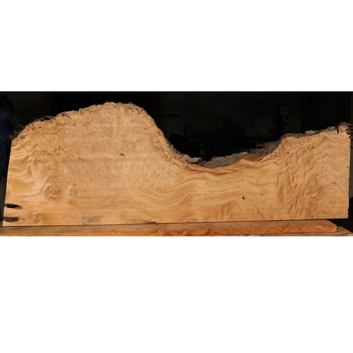 "View a Larger Image of Pequia (Caryocar Villosum) Slab 99"" x 34"" x 2"""