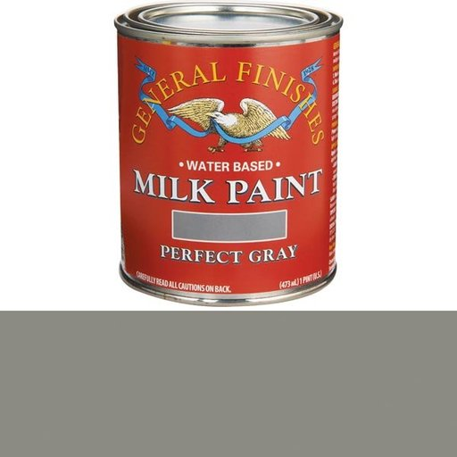 View a Larger Image of Perfect Gray Milk Paint Pint