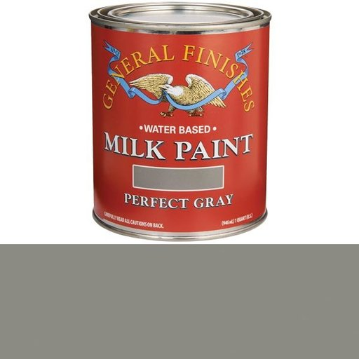 View a Larger Image of Perfect Gray Milk Paint Quart