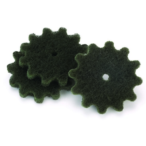 """View a Larger Image of New Wave 2"""" Replacement Scuff & Buff Ball 180 Grit Green 10pc - 1 Ball"""