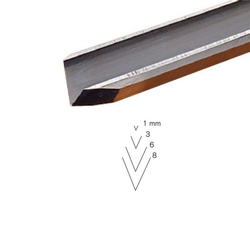 View a Larger Image of #15 Sweep V-Parting Tool, 3 mm, Full Size