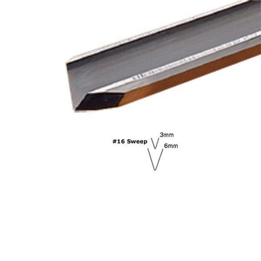 View a Larger Image of #16 Sweep V-Parting Tool 1 mm Full Size
