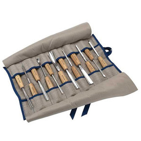 Brienz Collection Full Size Carving Tool Set, 12 piece