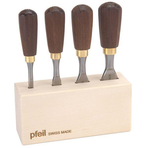 View a Larger Image of Butt Chisel Set of Four