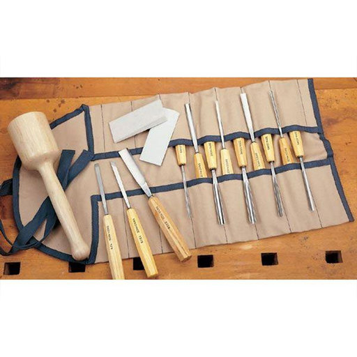 View a Larger Image of Carving Tool Full Size Set 16 piece