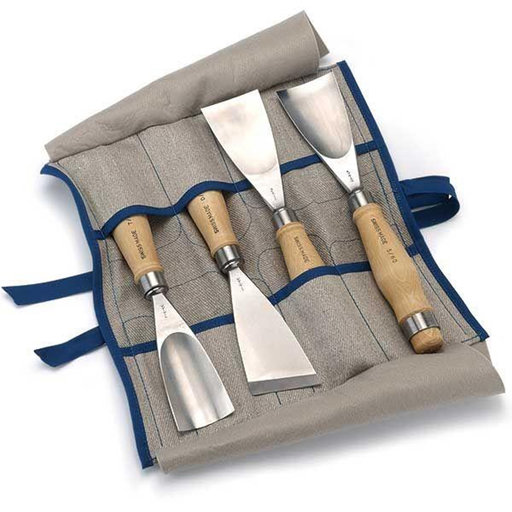 View a Larger Image of Fishtail Gouge Full Size Set 4 piece
