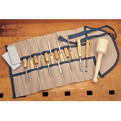 View a Larger Image of Carving Tool Intermediate Size Set 16 piece