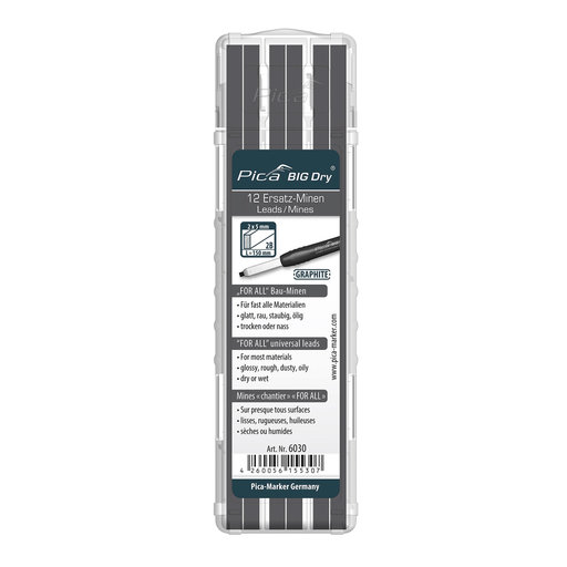 View a Larger Image of Pica 6030 BIG DRY Graphite Refill
