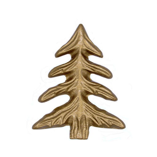 View a Larger Image of Pine Tree Knob, Lux Gold