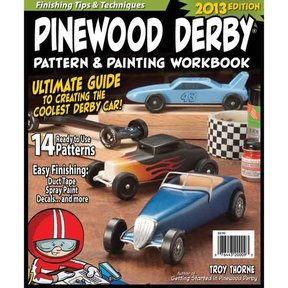 Pinewood Derby Pattern & Painting Workbook