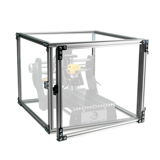 View a Larger Image of Piranha CNC Safety Enclosure