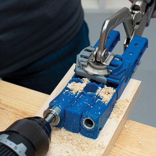 """View a Larger Image of Pocket-Hole Jig 320 With 2"""" Face Clamp"""
