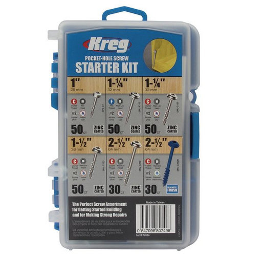 View a Larger Image of Pocket-Hole Screw Starter Kit