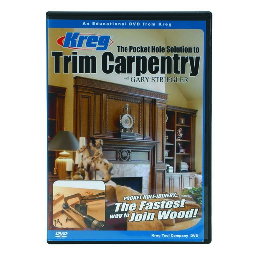 View a Larger Image of Pocket Hole Solution to Trim Carpentry DVD