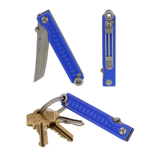 View a Larger Image of Pocket Samurai  Keychain Knife - Blue
