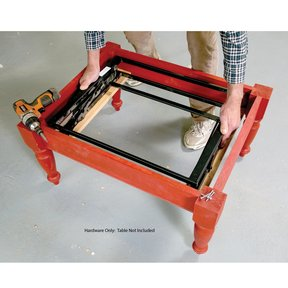 Pop-Up Table Mechanism