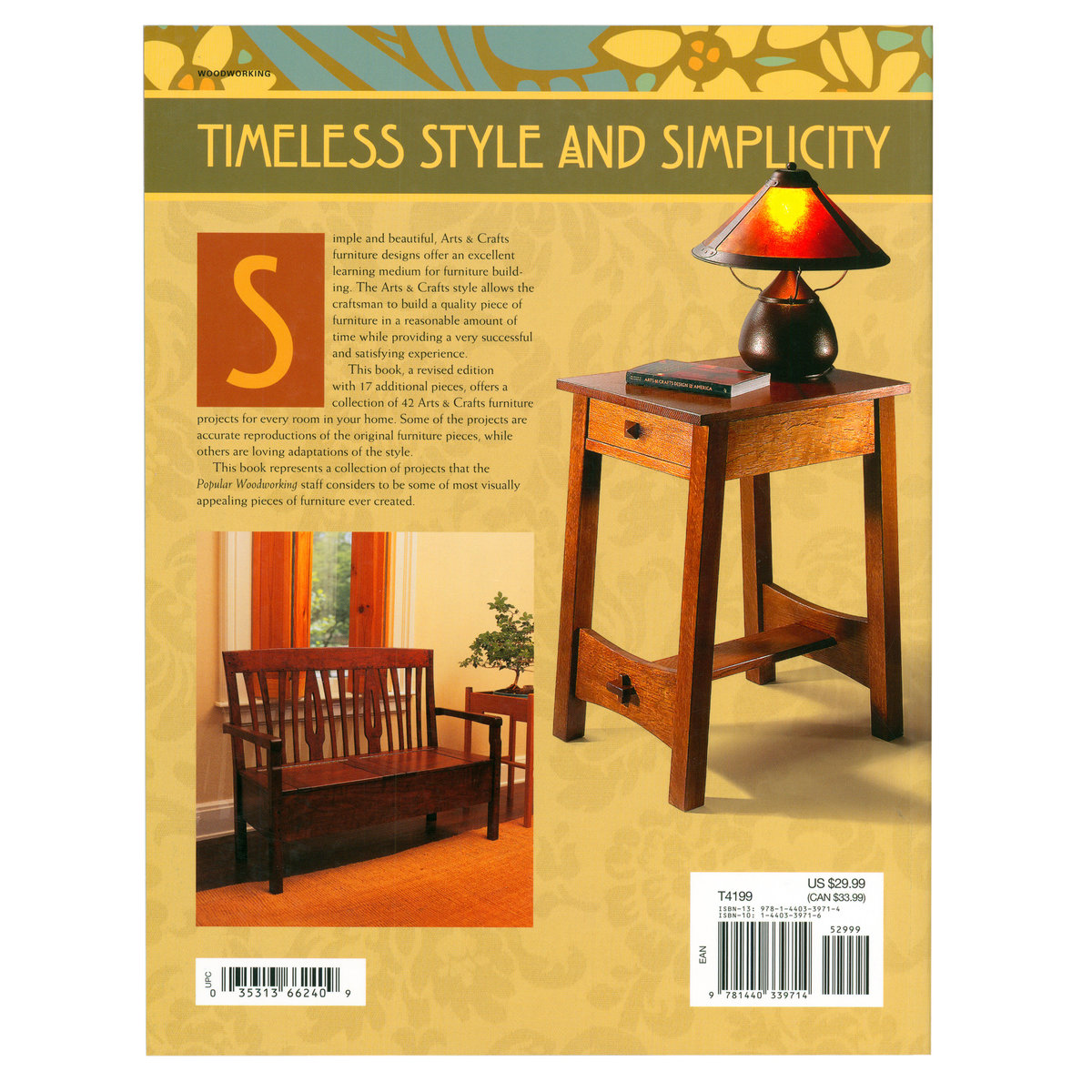 Popular Woodworking S Arts Crafts Furniture Projects