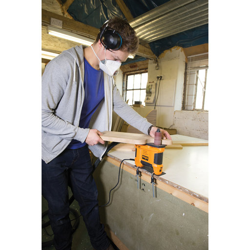 View a Larger Image of Portable Oscillating Spindle Sander