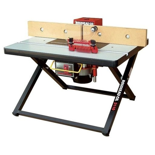 View a Larger Image of Portable Router Table, Benchtop Model 3110
