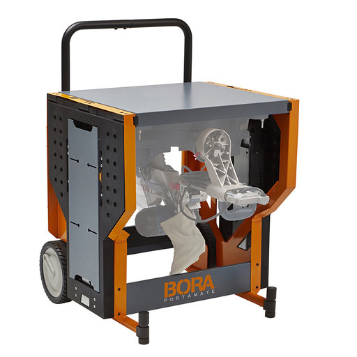 View a Larger Image of Portacube STR Miter Saw Work Station PM-8000