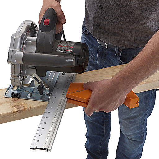 View a Larger Image of Portamate Quick-Cut Saw Guide