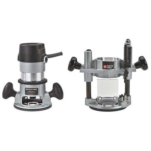 View a Larger Image of Porter-Cable 1-3/4 HP (Maximum Motor HP) Multi-Base Router Kit, Model 693LRPK