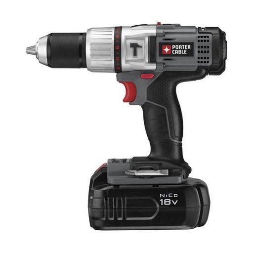 "View a Larger Image of 18V NiCD 1/2"" Compact Hammer Drill Kit, Model PC180CHDK-2"