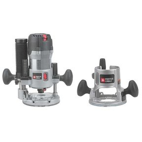 Porter-Cable 2-1/4 HP (Maximum Motor HP) Multi-Base Router Kit,  Model 893PK