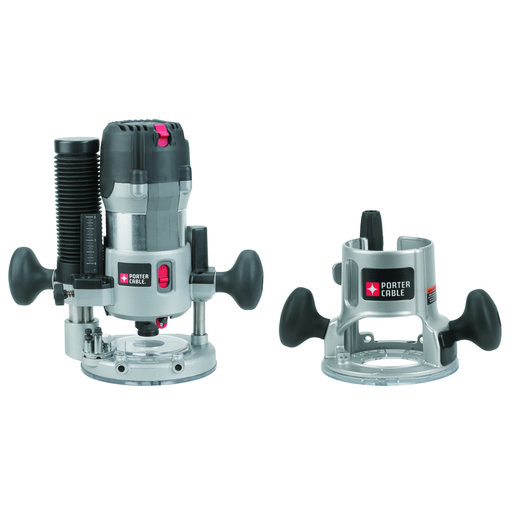 View a Larger Image of Porter-Cable 2-1/4 HP VS Router Kit, Model 895PK