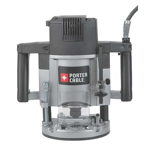 View a Larger Image of Porter-Cable 3-1/4 HP (Maximum Motor HP) 5-Speed Plunge Router, Model 7539