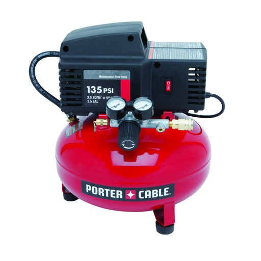 View a Larger Image of Porter-Cable 3.5 Gallon Portable Air Compressor PCFP02003